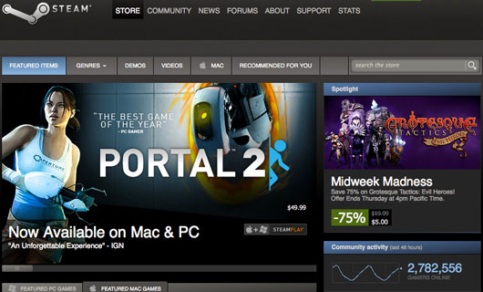 Steam-Store-Front